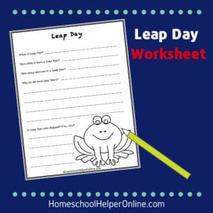 leap day worksheet