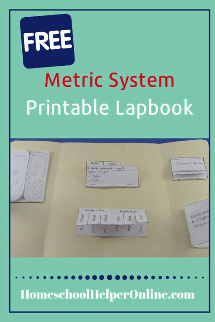 Metric System Lapbok
