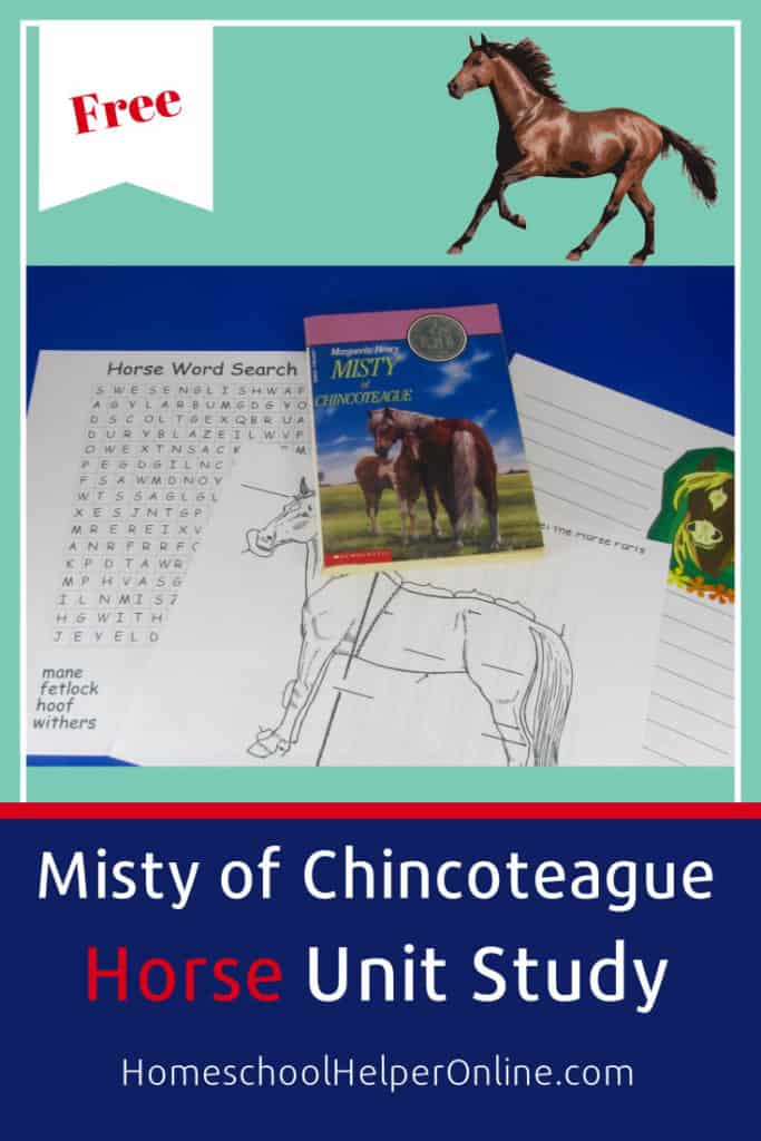 Misty of Chincoteague Unit Study