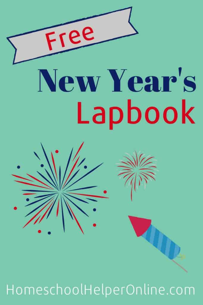 New Year's Lapbook