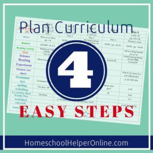 Easily Plan Curriculum