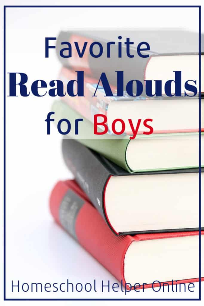 Our Family's Top Five Read Alouds for the Boys