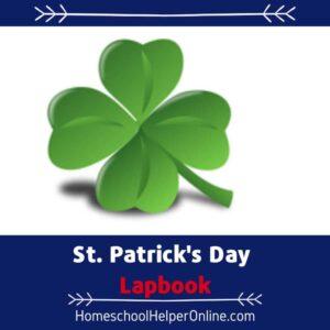 St Patrick's Day Lapbook
