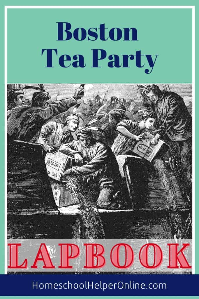 Boston Tea Party Lapbook