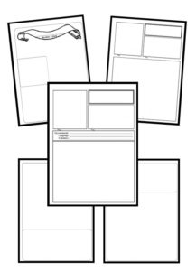 Editable notebooking templates bundle