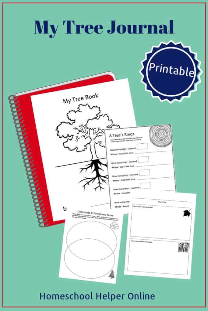 Printable my tree journal