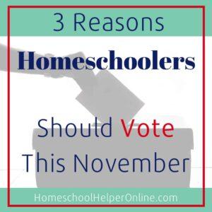 Why Homeschoolers Should Vote